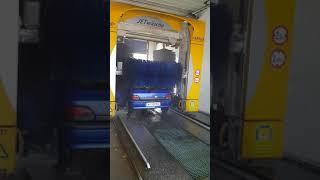 How automatic car wash in Austria