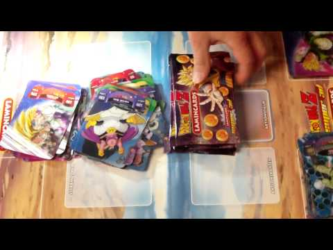 DragonBallZ Super 3D Lamincards Box Opening Deutsch(German) Part.2