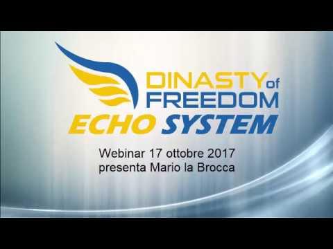 Dinasty of Freedom Webinar Progetto al 1710 2017