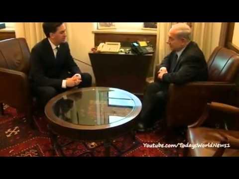 Labour leader Ed Miliband visits Israel