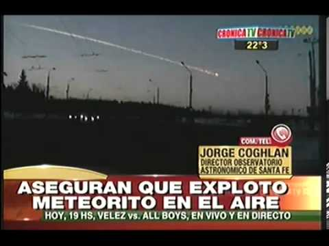 Meteorito se Estrella y Causa Temblor en Santa Fe | ARGENTINA