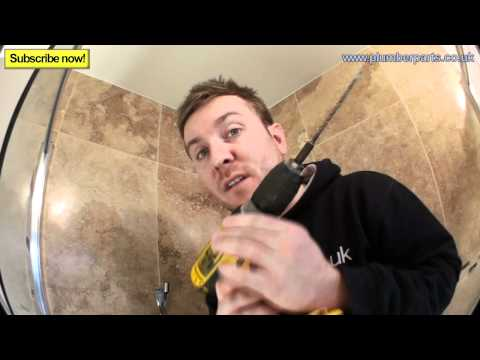 0 SHOWER RAIL INSTALL   Plumbing Tips