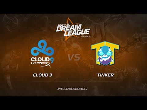 Cloud9 vs Team Tinker, DreamLeague Season 2, Day 6, Game 4, Match 1