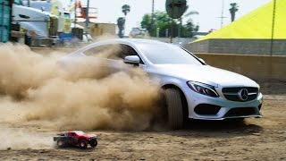 Parkour vs RC Car vs C-Class Coupe - The Ultimate Race!