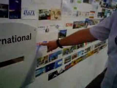 IARC Presents: QSL Wall at Friedrichshafen