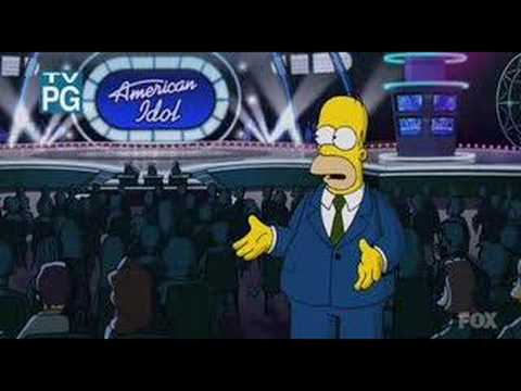 The Simpsons/American Idol Parody
