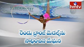 Indian Gymnast Meghana Reddy Won Two Bronze Medals |