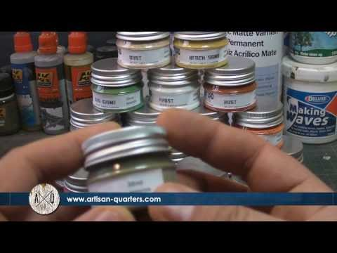 Product Review: Artisan Quarters Broken Toad Weathering Powders.