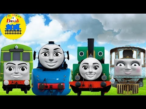 Thomas Wrong Heads for Children THOMAS AND FRIENDS with Funny Song|Nursery Rhymes Song