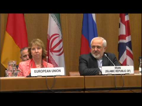 Catherine Ashton at the E3+3 negotiations with Iran: Roundtable