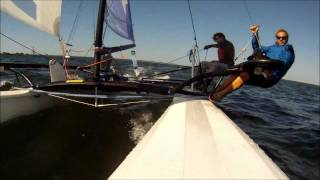 Hobie 18SX sailing on Tampa Bay