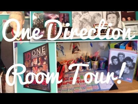 One Direction Room Tour! *Updated*