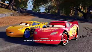 Disney Cars 3 Full Movie Video Game Driven to Win Launch Gameplay Part 1 - Opening