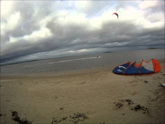Kitesurfing FAIL   Ireland