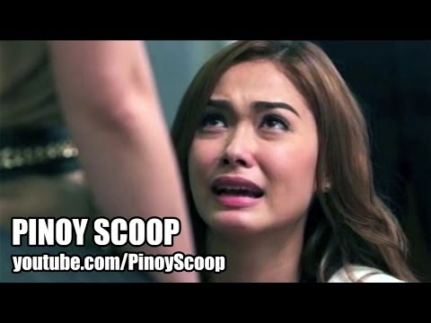 Maja Salvador Kneels Before Angel Locsin On