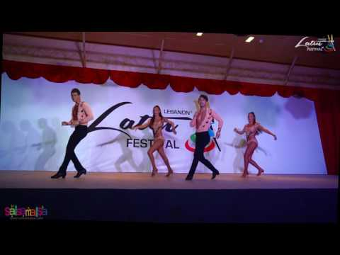 Group Aura Dance Performance | Lebanon Latin Festival 2016