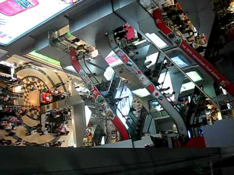 inside mbk shopping center bangkok