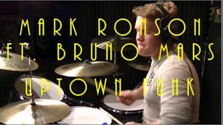 Mark Ronson Ft. Bruno Mars - Uptown Funk - Drum Cover By Rex Larkman