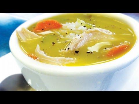 Как приготовить куриный суп. | How to cook chicken soup.