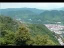津和野城跡からのパノラマ