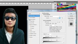 Adobe Photoshop Tutorial : How to change background colour