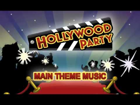 Club Penguin Hollywood Party Theme Music video