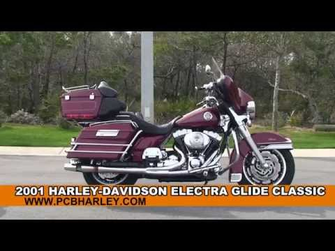 Used 2001 Harley Davidson Electra Glide Classic Motorcycles for sale - Crystal River, FL