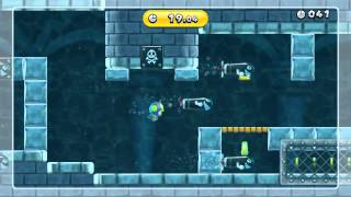 Penguin vs. Torpedo Gold Medal - New Super Mario Bros. U (43.23)