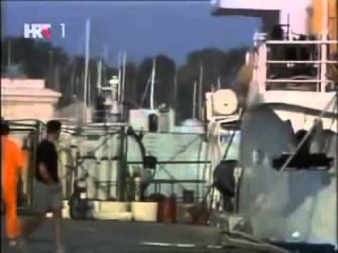 JNA odlazak iz vojne luke