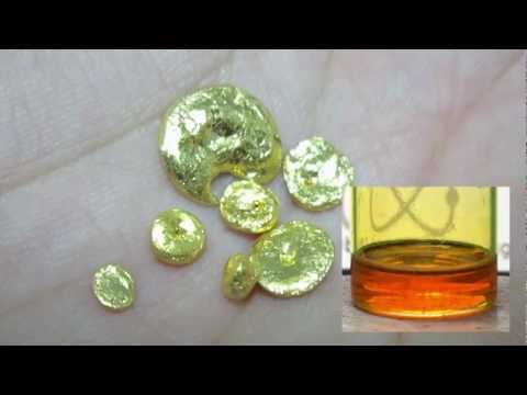 Make Gold from Chloroauric Acid