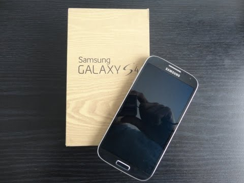 Samsung Galaxy S4 Unboxing!