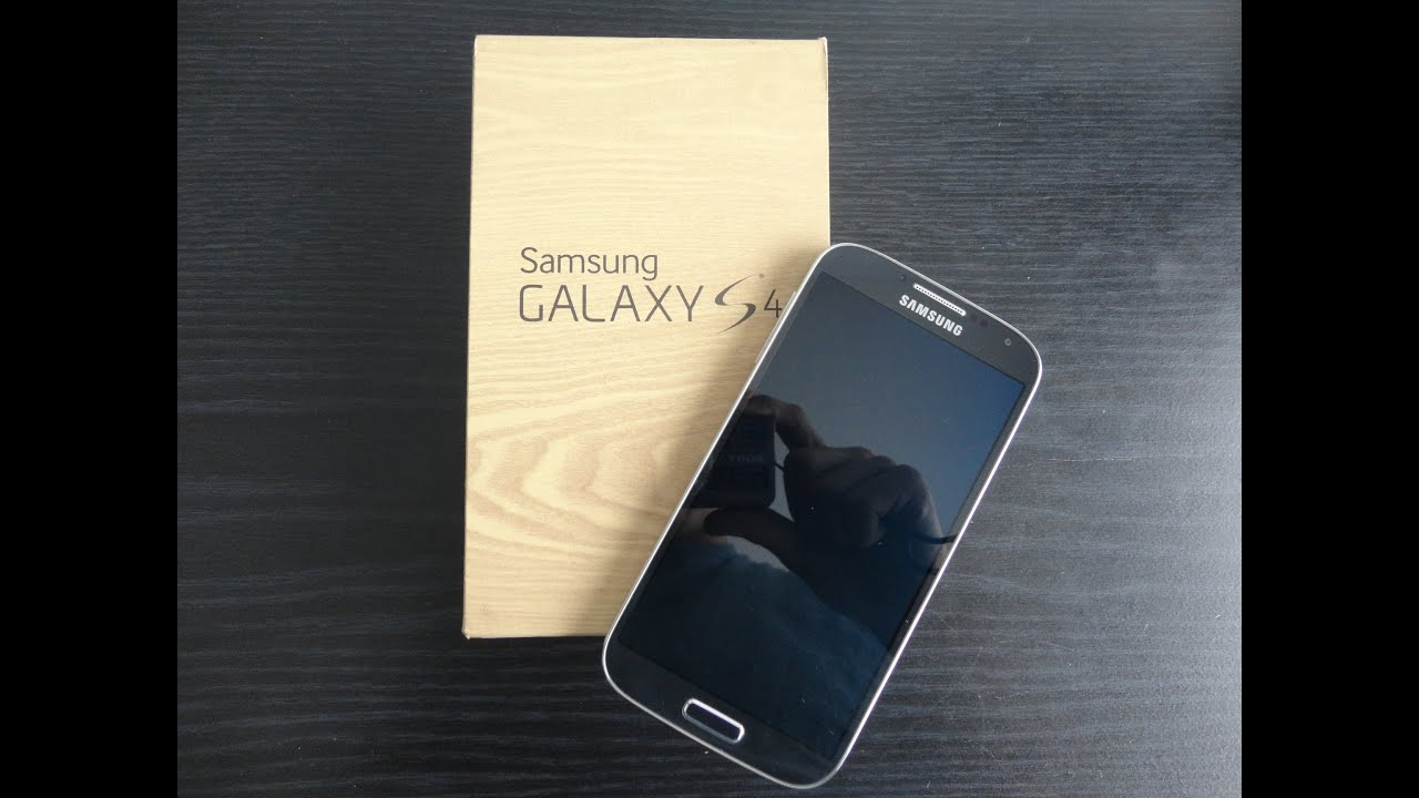 samsung galaxy s4 unboxing   youtube