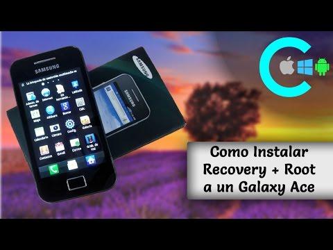 Como Instalar Recovery + Root en un Samsung Galaxy Ace (GT-S5830M/I/C)