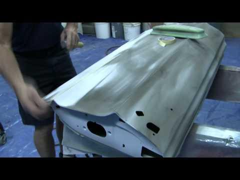 Block Sanding a Door Part 1