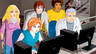 VIRUS ATTACK | The Conversion Experiment (part 1) | Full Episode 37 | Cartoon Series For Kids | ENG