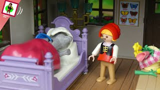 "Playmobil Film ""Rotkäppchen"" Familie Jansen / Märchen Kinderfilm / little red riding hood"