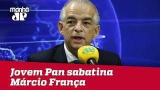 Segundo Turno Eleições 2018 - Jovem Pan sabatina Márcio França (PSB)
