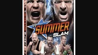 WWE Summerslam 2012 DVD Cover
