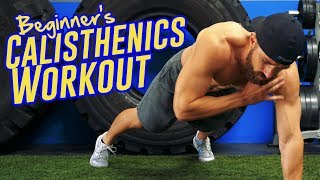 Calisthenics FOLLOW ALONG Workout For Beginners - Full Body