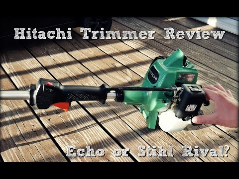 Hitachi CG22EAP2SLB String Trimmer Review (Same as Tanaka) - Echo or Stihl Rival?