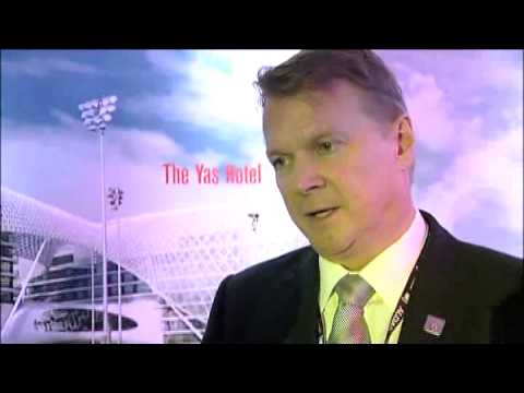 Stephen Banks, Director Sales & Marketing, Aldar Hotels & Hospitality, Abu Dhabi @ ATM 2010