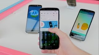 Moto G6, G6 Plus and G6 Play unboxing & Hands-on
