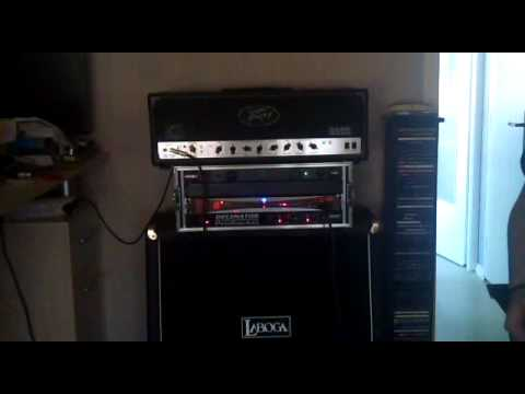 Peavey 6505 with Laboga 4x12 V30