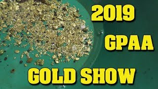 Gold Prospecting:  2019 GPAA Gold and Treasure Show - Fresno, California