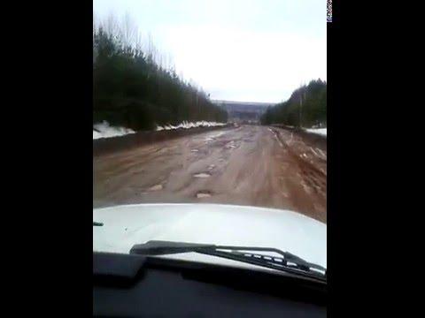 Кировская обл. дорога Киров-Зуевка(07.04.2016)