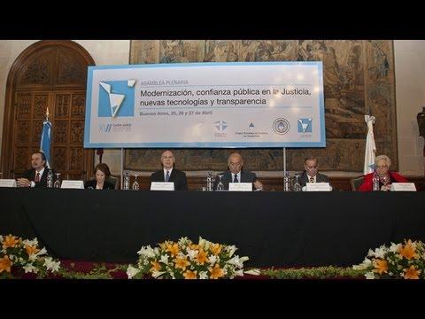Apertura XVI Cumbre Judicial Iberoamericana