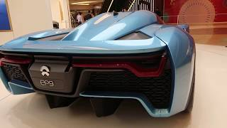 NIO EP9 electric-powered, two-seat sports car The EP9 from 0-62 mph in 2.7 seconds