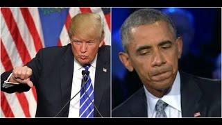 President Donald Trump Tells all of Obama