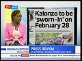 The bluff that is NASA's 28th February 2018 swearing-in of Kalonzo Musyoka