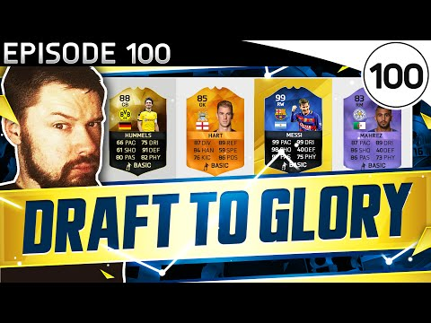 EPISODE 100!! - INSANE DRAFT PACK! - FUT DRAFT TO GLORY #100 - FIFA 16 Ultimate Team